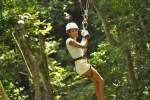 Zip lining in Ocho Rios Jamaica