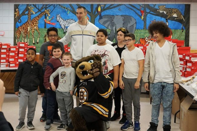 Image result for zdeno chara thanksgiving