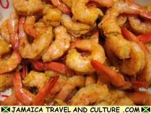 Curry Shrimp - Seasoning the shrimp