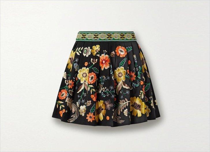 Alice + Olivia Mini skirt Mini skirt Mini skirt اللباس 2021 ملابس موسم الخريف