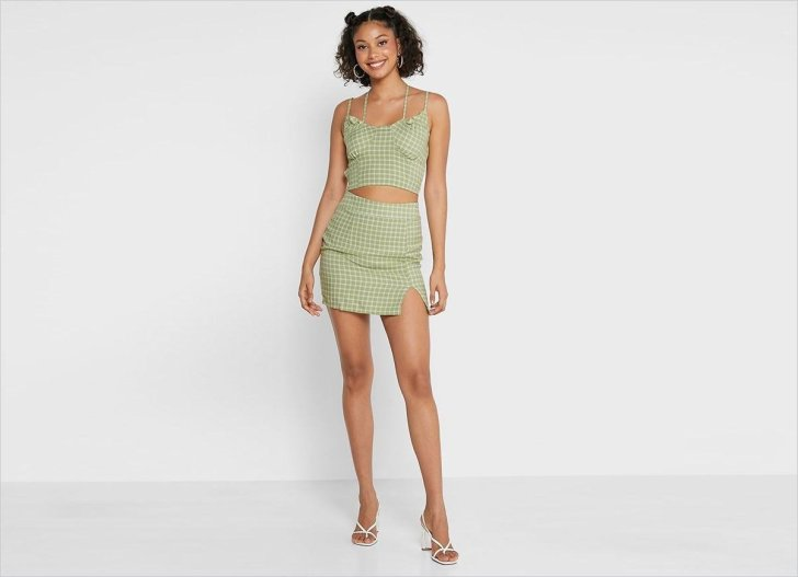 تنورة صغيرة من الزنجبيل تنورة صغيرة تنورة صغيرة تنورة ملابس خريف 2021