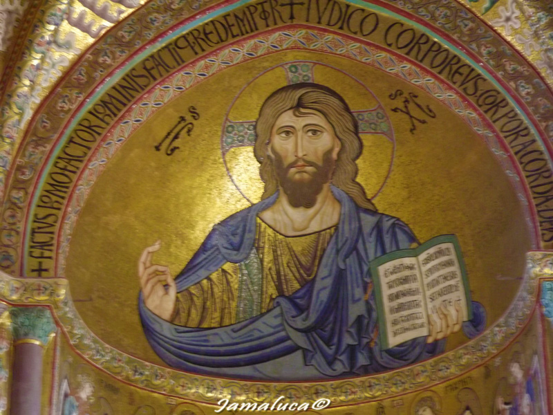 Cefalù - Cristo Pantocratore
