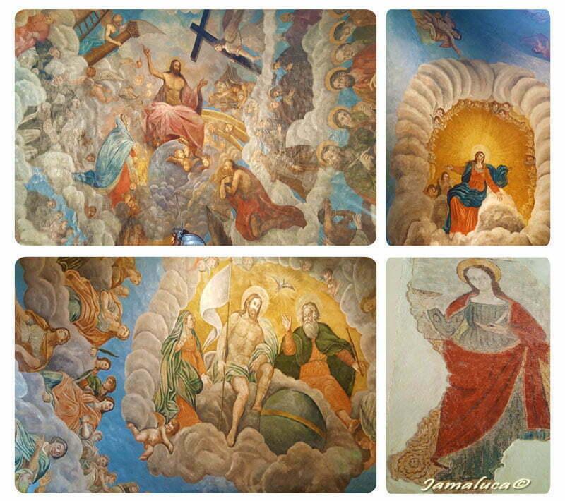 Santa Maria delle Armi - gli affreschi