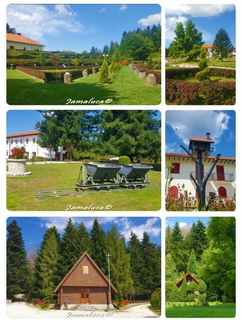 Mongiana - Il Parco di Villa Vittoria