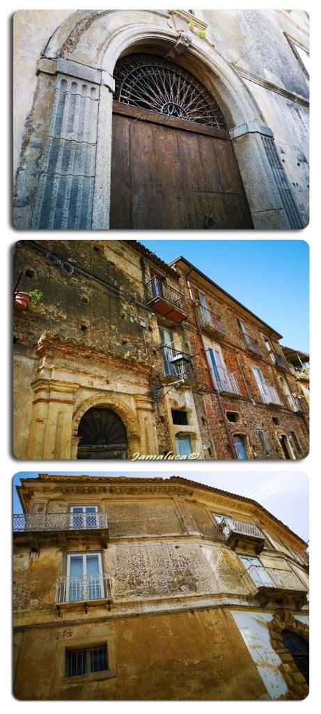 Monterosso Calabro - I palazzi