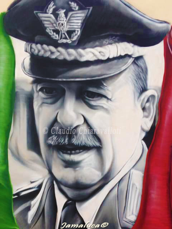 Street art in Calabria - Generale Carlo Alberto Dalla Chiesa