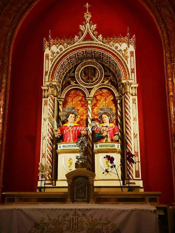 Santuario di San Cosimo alla Macchia - Santi Medici