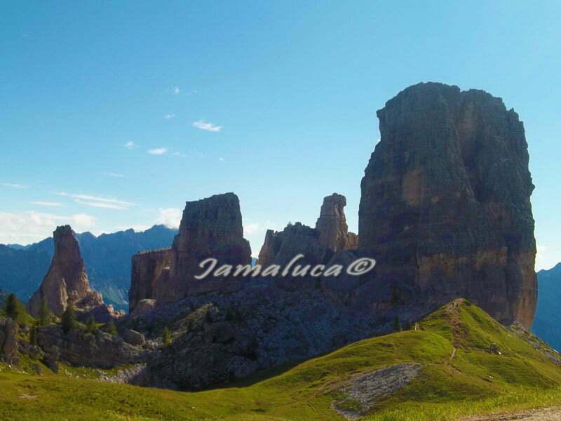 Escursione alle 5 Torri sulle Dolomiti