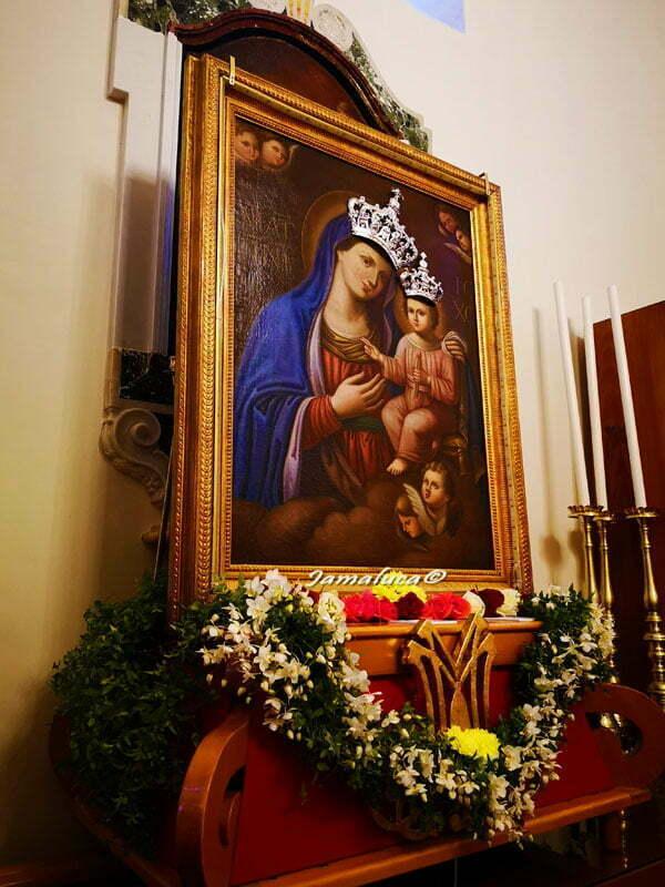 Sacro Quadro nel Santuario Mater Domini a Laterza