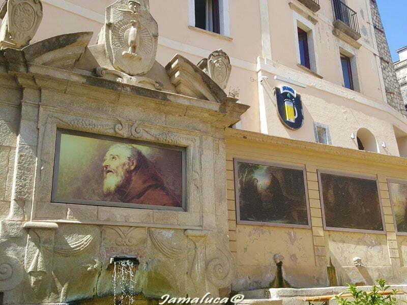 fontana dei sette canali San Francesco di Paola
