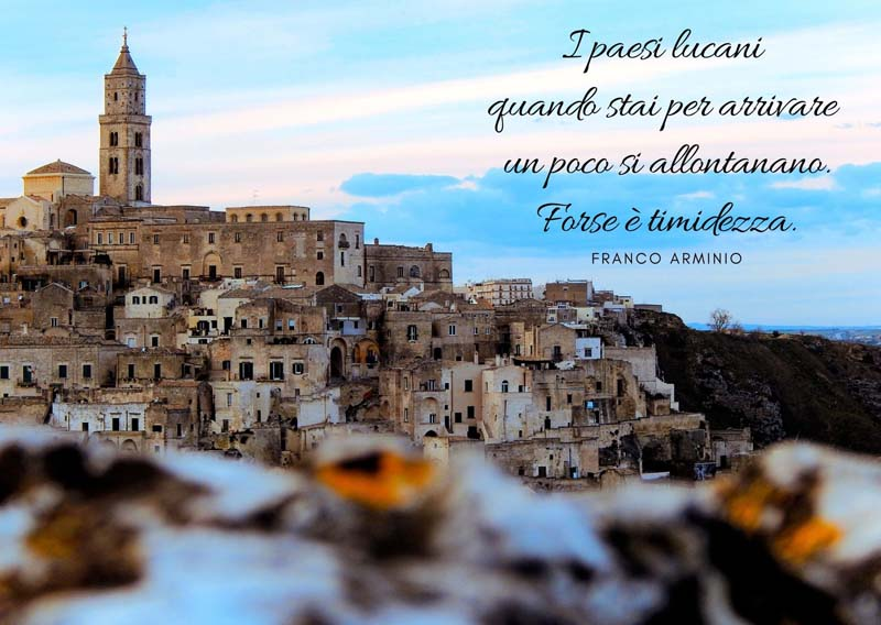 Frasi e citazioni su Basilicata e Matera