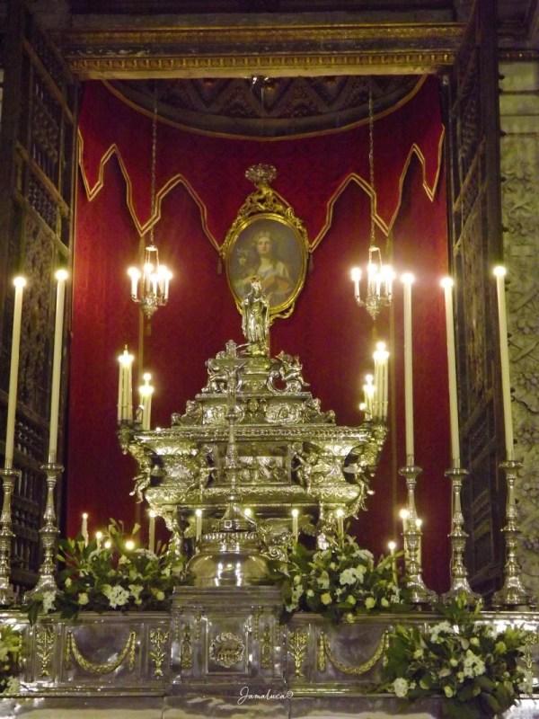 Cappella di Santa Rosalia nella Cattedrale di Palermo