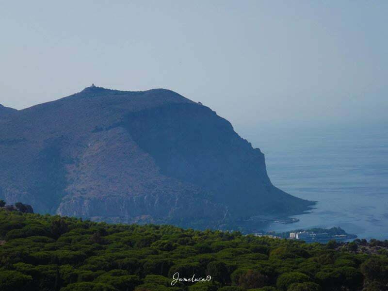 Golfo di Mondello da Monte Pellegrino