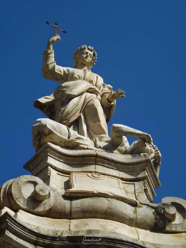 Statua di Santa Rosalia Cattedrale di Palermo