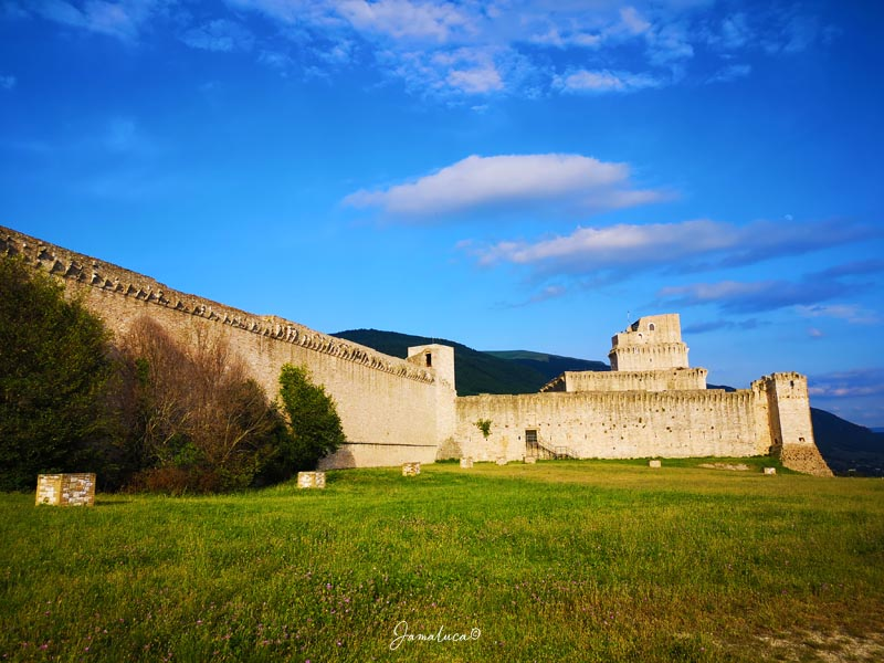 Cosa vedere ad Assisi Rocca Maggiore