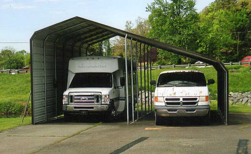 24 X 30 Slant Roof Jamar Carports Amp Portable Buildings