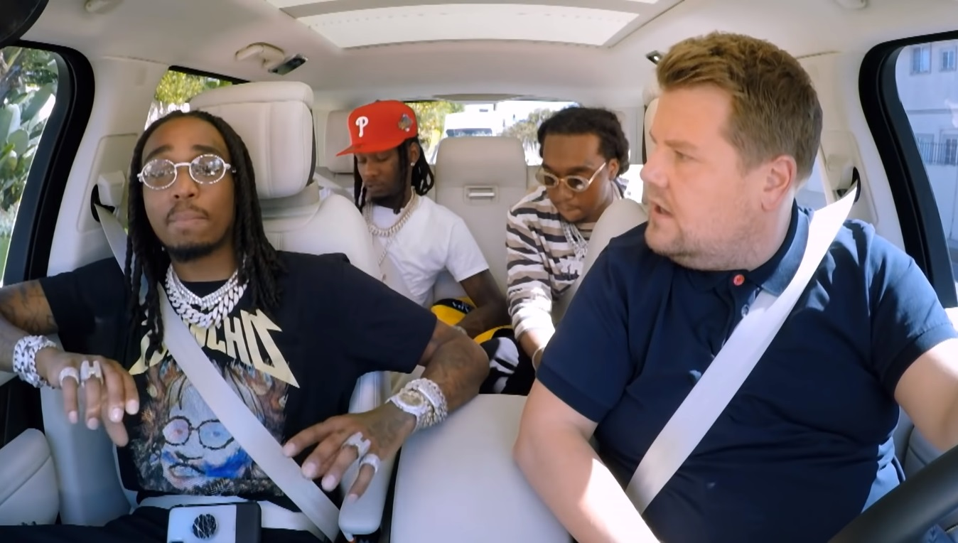 Migos Join James Corden For 'Carpool Karaoke'