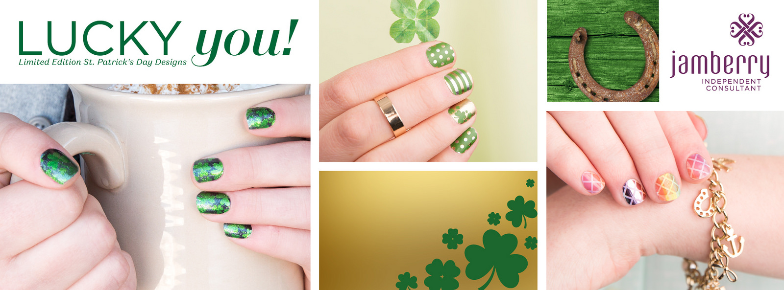 St Patrick's Day Wraps Available Now
