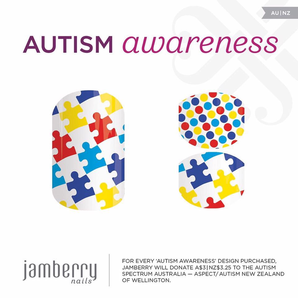 Jamberry Launches Autism Wraps For Charity