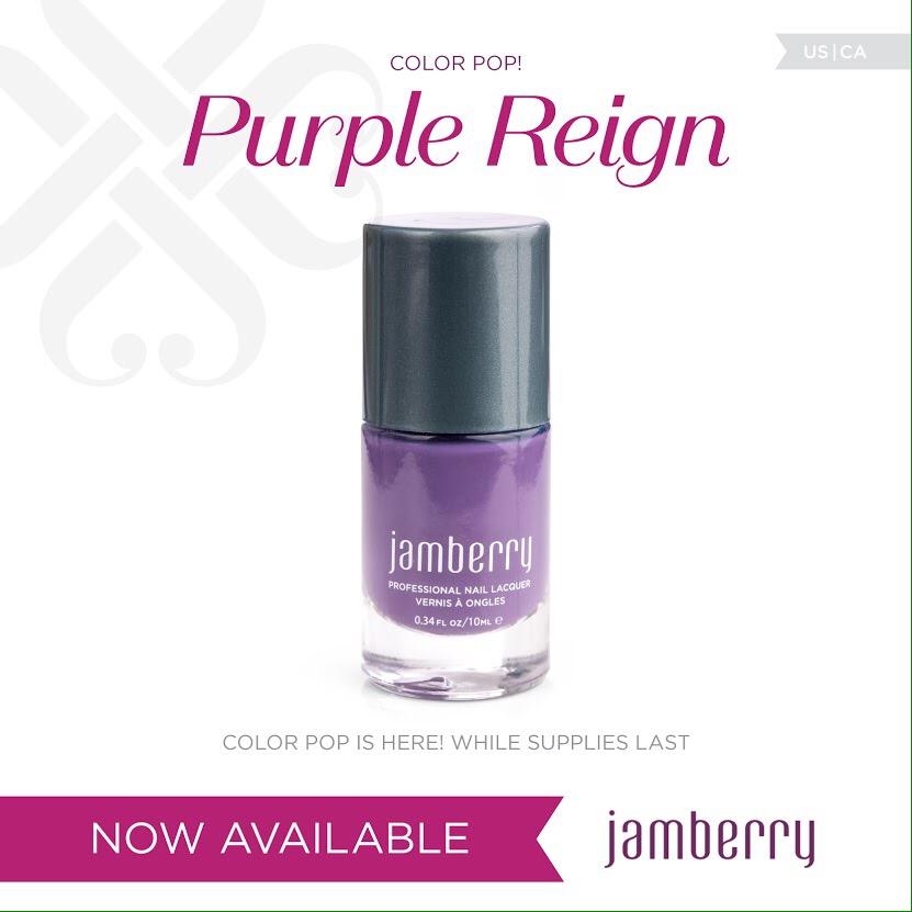 July Colour Pop - Purple Reign - Jambeautiful