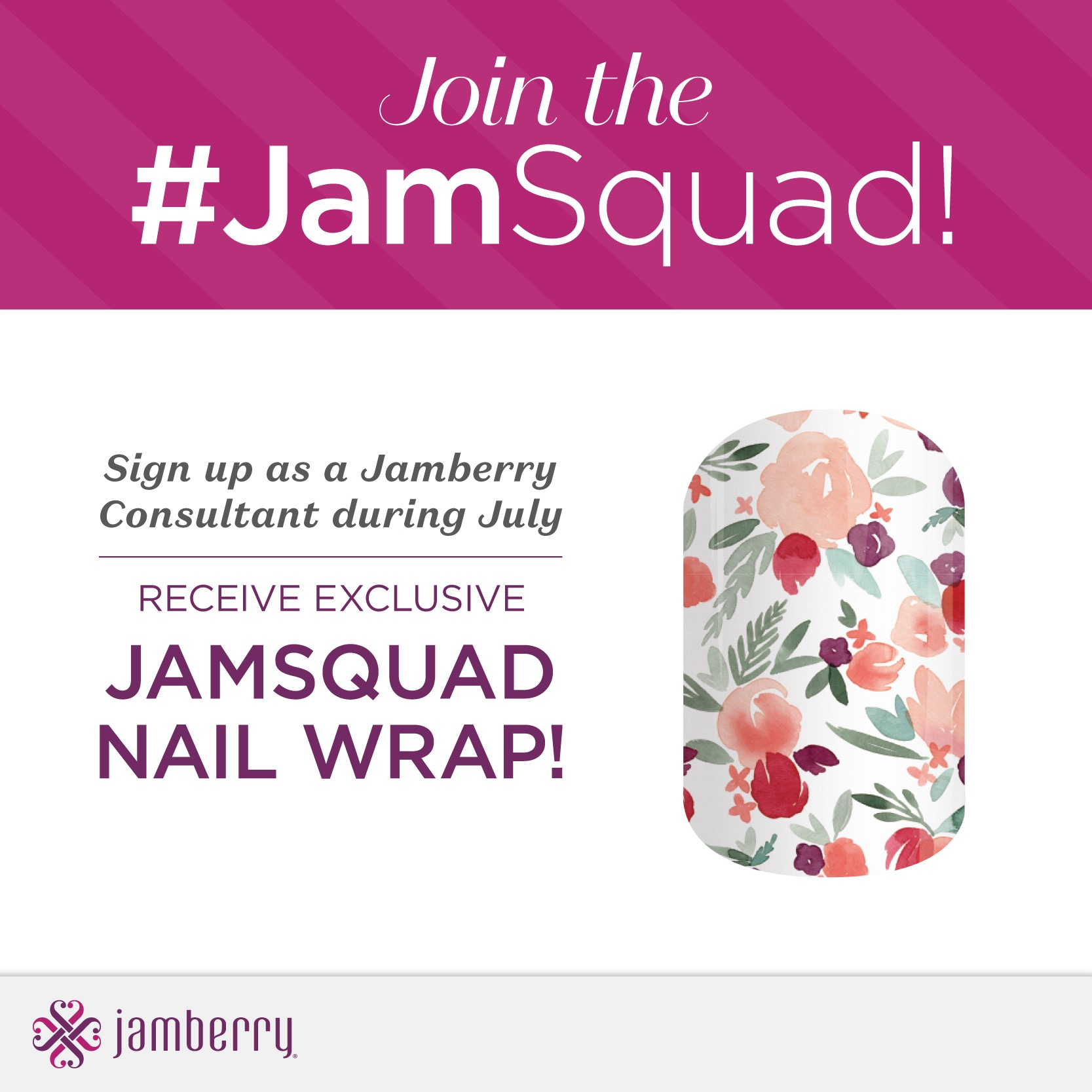 Join Jamberry UK, US or Canada for Exclusive Jamsquad Wrap
