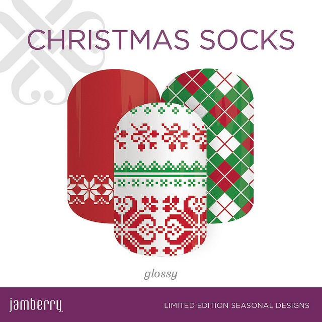 2016 Jamberry Christmas Wraps - Jam Beautiful