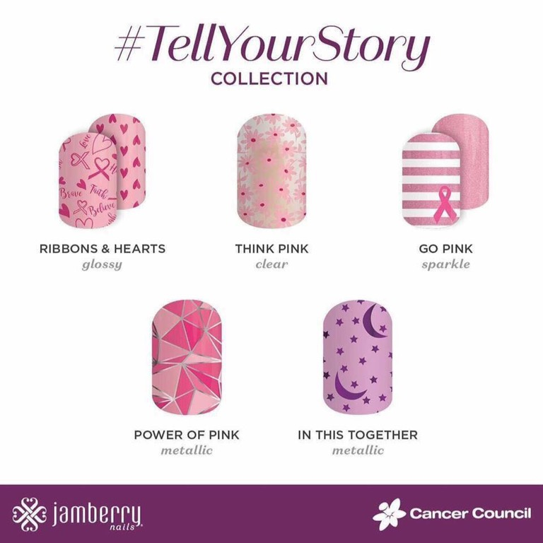 #TellYourStory Collection – Breast Cancer Charity Wraps