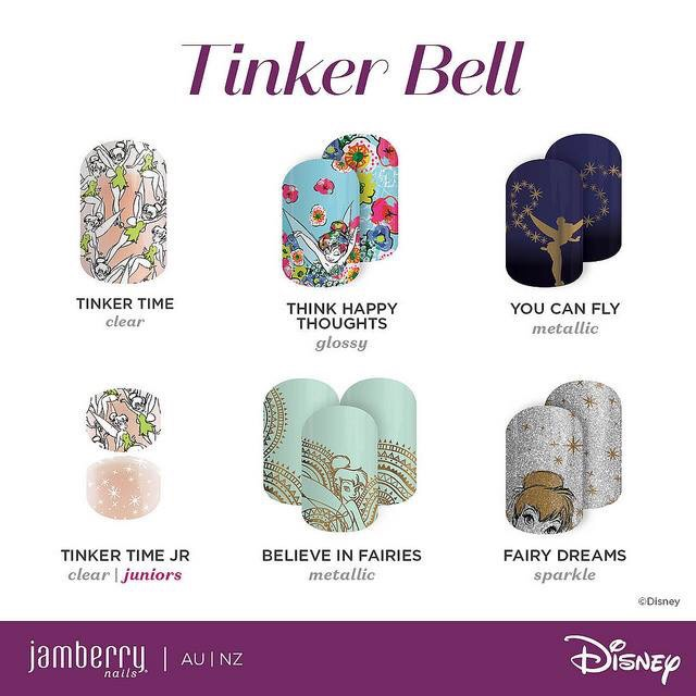 Disney Collection by Jamberry in Australia & NZ