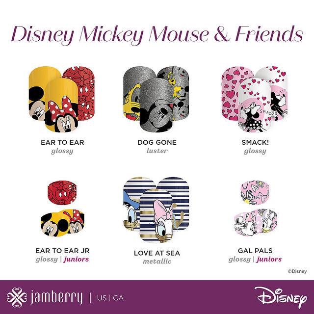 Disney Collection by Jamberry (Series 1 & 2)