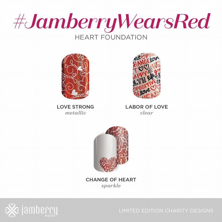 Charity Wraps – #Jamberrywearsred