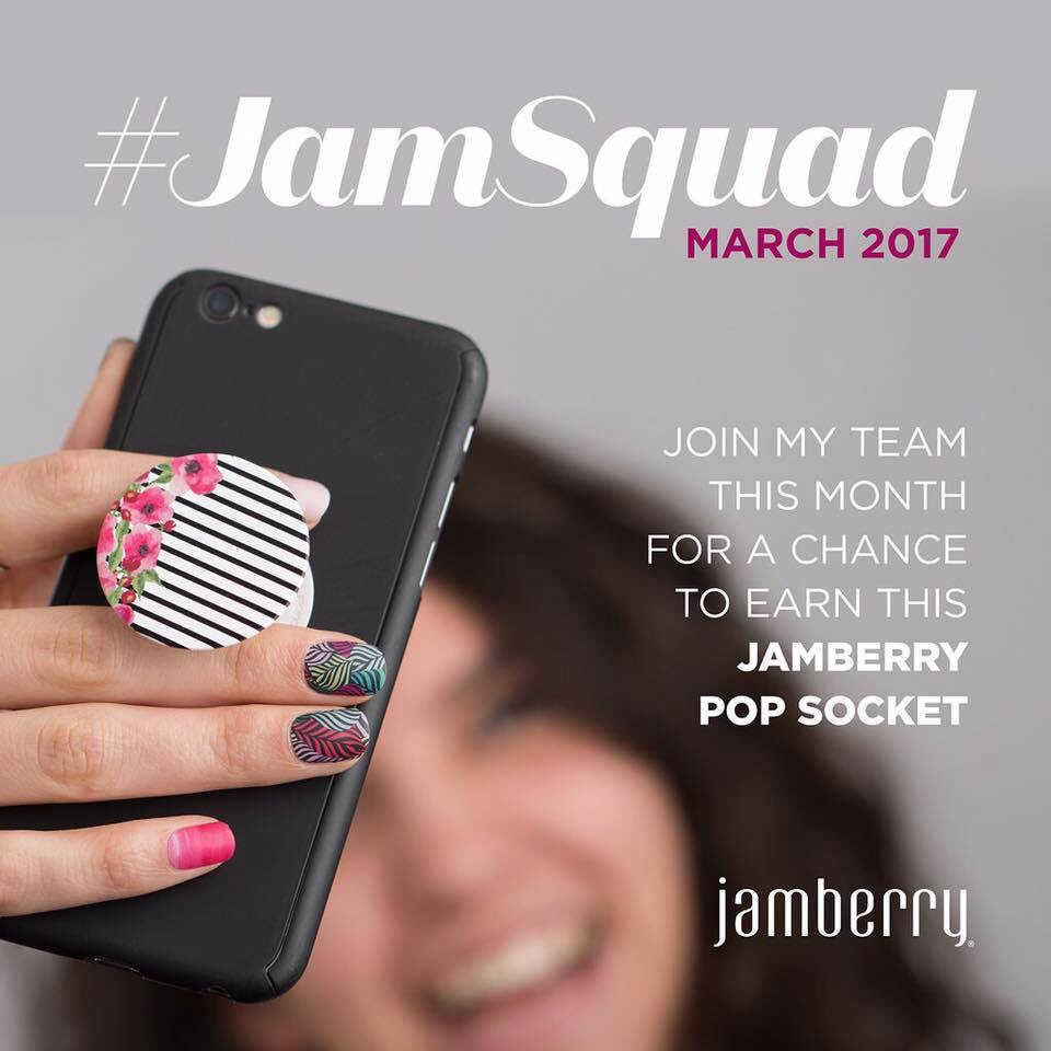 Free Jamberry Pop Socket Could Be Yours