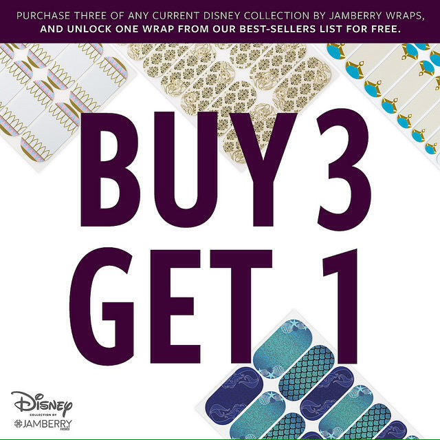 Disney Collection By Jamberry Promo