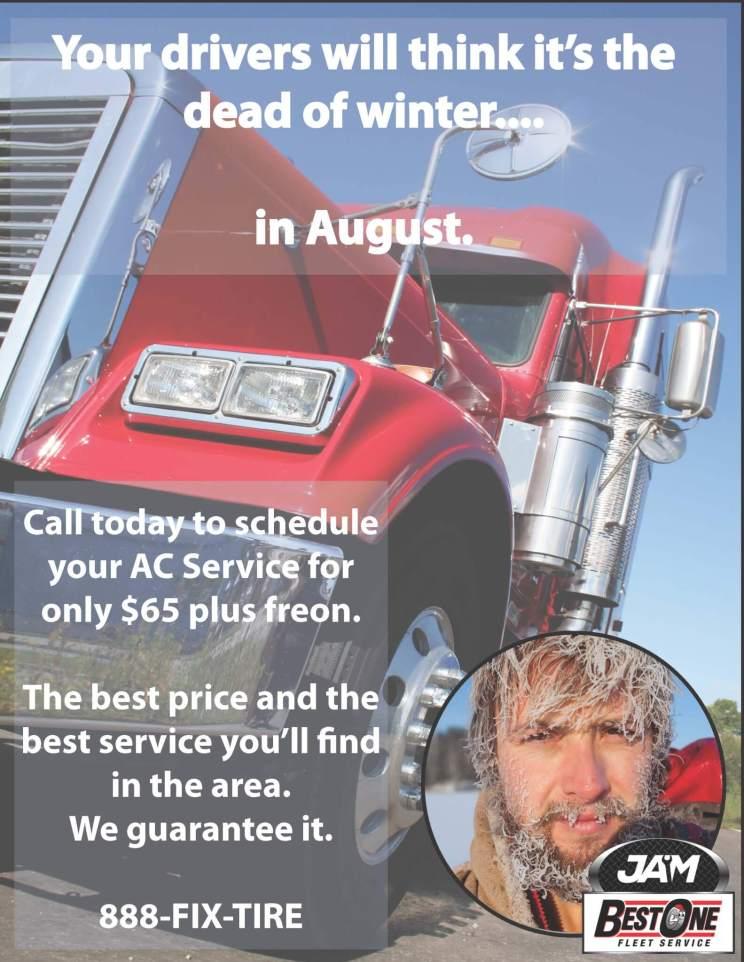 semi truck ac service