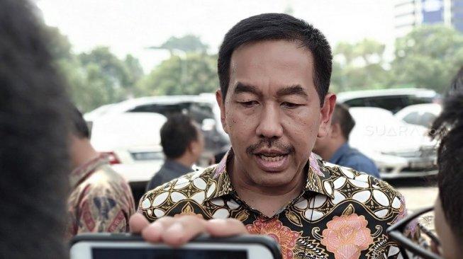 Direktur Utama AP II, Muhammad Awaluddin. (Suara.com/Fauzi)