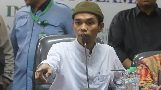 Ustaz Abdul Somad , Jakarta. [Suara.com/Arya Manggala]