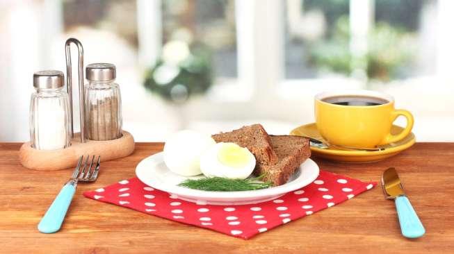 Ilustrasi sarapan. [Shutterstock]