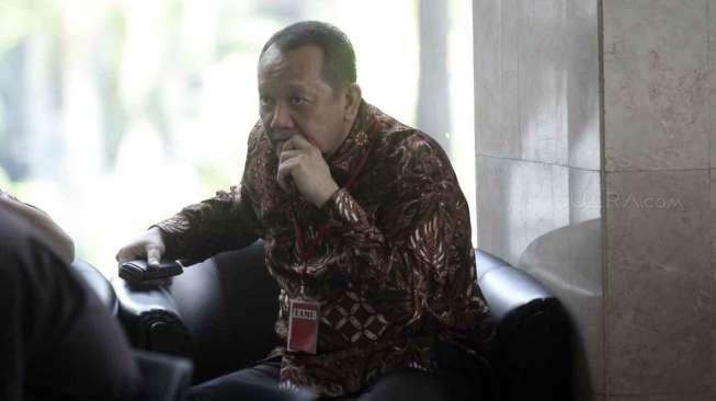 Sekretaris Mahkamah Agung (MA), Nurhadi memenuhi panggilan Komisi Pemberantasan Korupsi (KPK), Jakarta, Selasa (24/5).