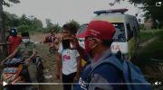 Capture Video Camat Tolak Jenazah Pakai Ambulan Cek Endra yang beredar. Foto: Jambiseru.com