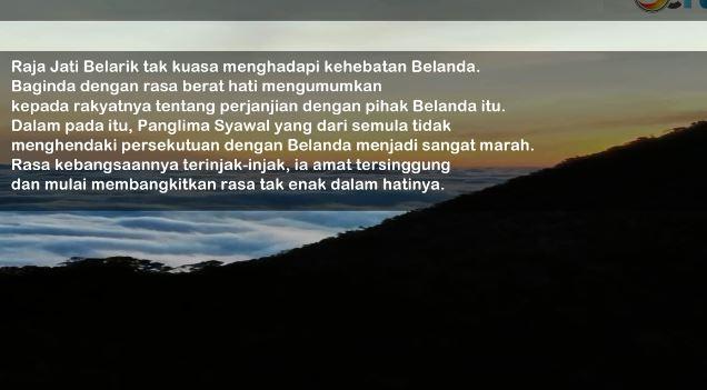 Cerita Rakyat Jambi 1 Panglima Syawal