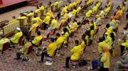 Suasana rapat pleno DPP Partai Berkarya, yang dipimpin Tommy Soeharto, di Gedung Granadi. (Ist)