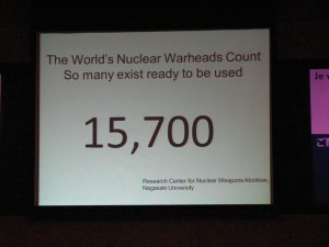 testimony by an atomic bomb survivor AGAINST NUCLEAR WEAPONS