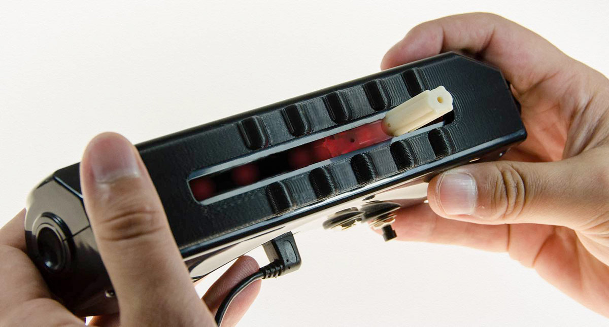 Jamboxx Pro includes tactile bumps on the face of the instrument - MIDI solutions
