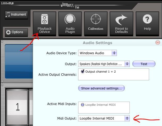 ProSuite Playback Device settings