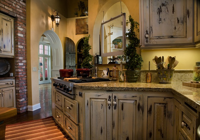 Kitchen Remodel: Old World Style