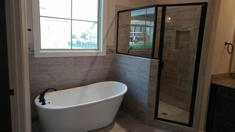 freestanding tub in bathroom remodeling