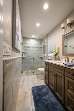Countryside Bathroom & Closet Remodel