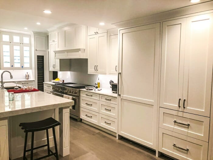 custom cabinets in a kitchen remodel