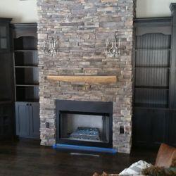 Bridgewood Cabinetry family room