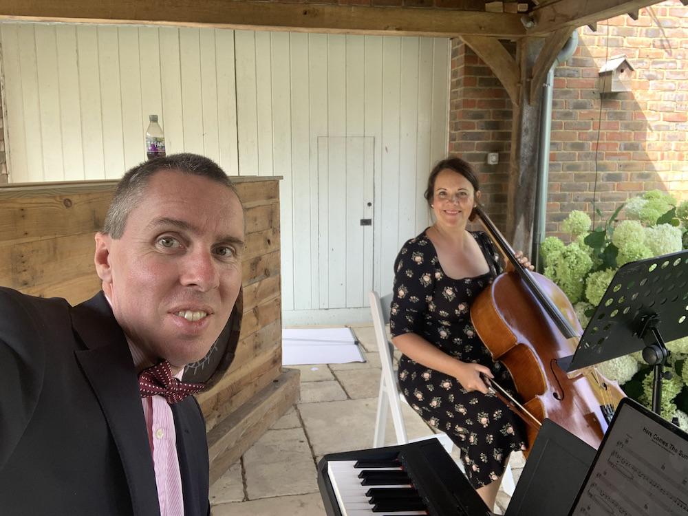 JAM Duo at a Wedding