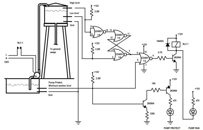 pump control schematic  trusted wiring diagram •